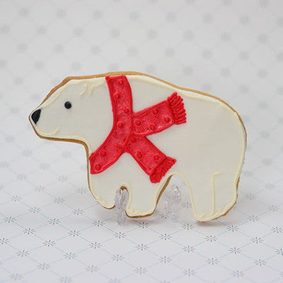 Polar Bear Cookie Favor