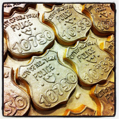 Police Badge Cookie Favor