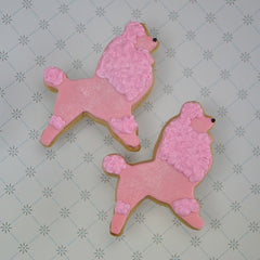 French Poodle Cookie Favor