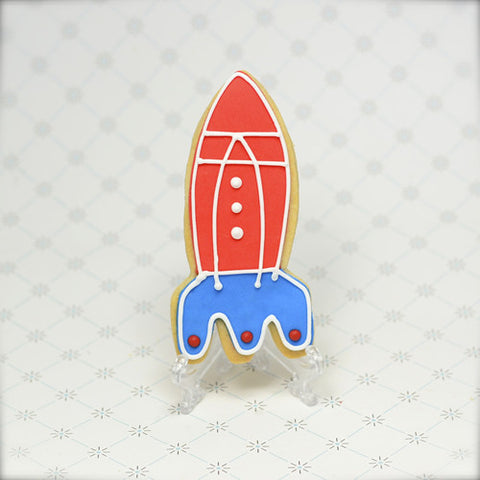 Rocket Ship Cookie Favor