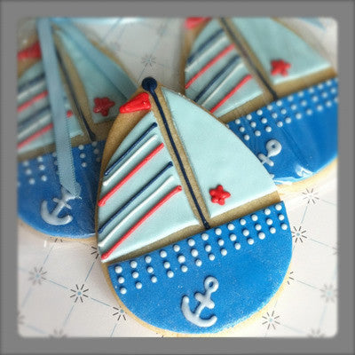 Sailboat (Baby) Cookie Favor