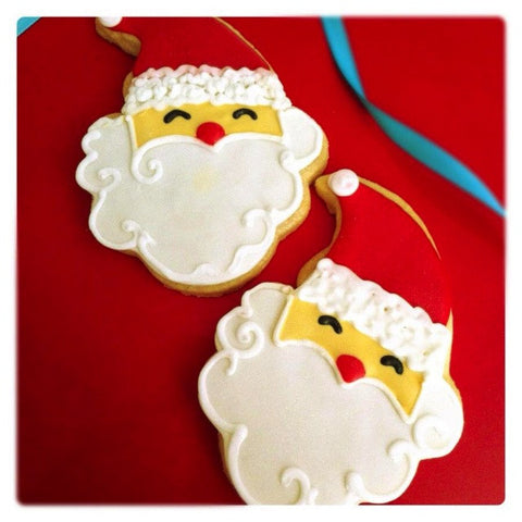 Santa Claus (Face) Cookie Favor