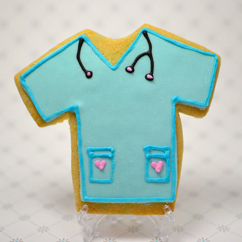 Scrub Cookie Favor