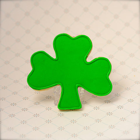 Shamrock Cookie Favor