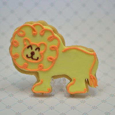 Lion Cookie Favor