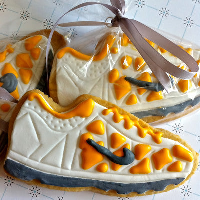 Sneaker Cookie Favor