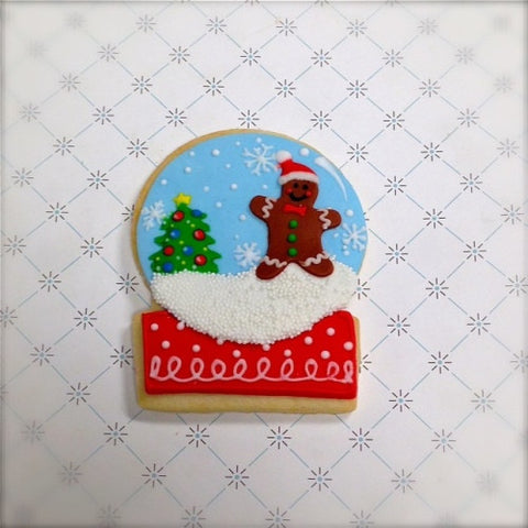 Snow Globe Cookie Favor