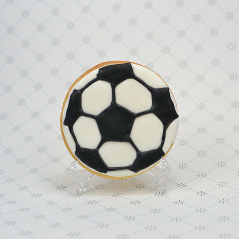 Soccer Ball Cookie Favor