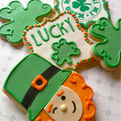 Lucky Shamrock Cookie Favor