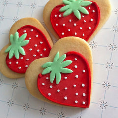 Strawberry Cookie Favor