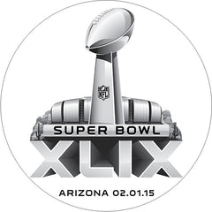 Super Bowl Image Cookie Favor