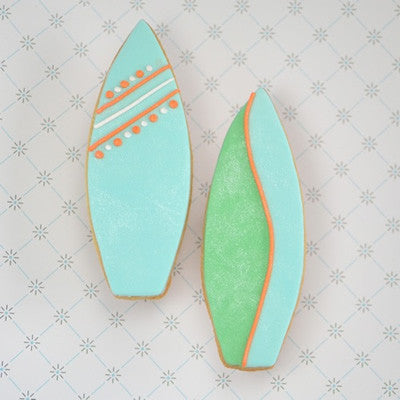 Surfboard Cookie Favor