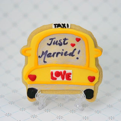 Taxi Cab (bumper) Cookie Favor