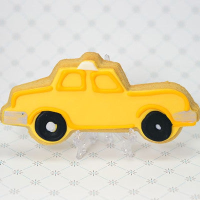 Taxi Cab (profile) Cookie Favor