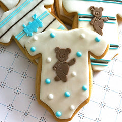 Onesie Cookie Favor