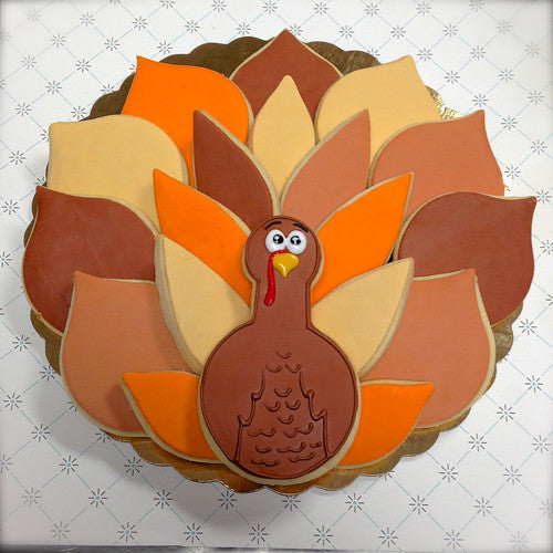 "Turkey ""Wreath"" Platter"