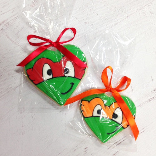 Turtle Heart Cookie Favor