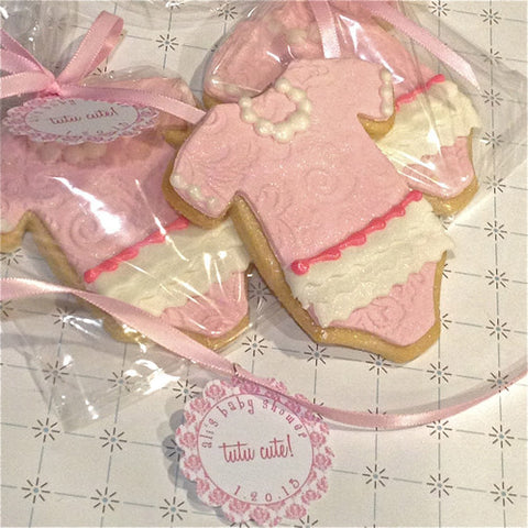 Tutu Onesie Cookie Favor
