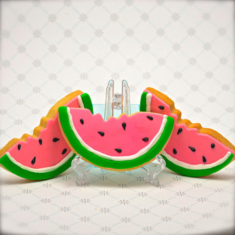 Watermelon Cookie Favor