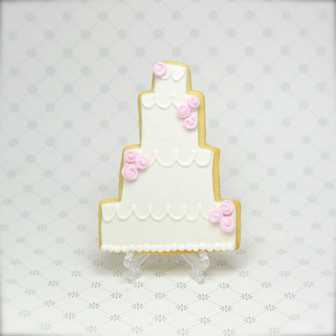 Wedding Cake (4 tier) Cookie Favor