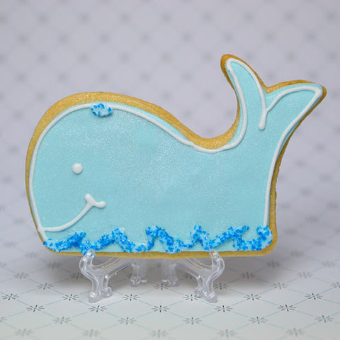 Whale Cookie Favor