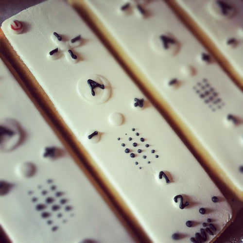 Wii Remote Cookie Favor