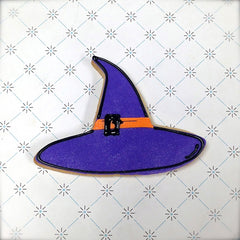 Witch Hat Cookie Favor