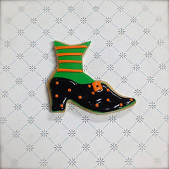 Witch Shoe Cookie Favor