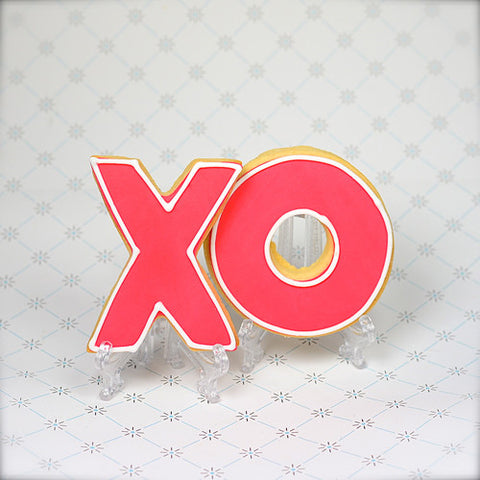 X & O (hugs & kisses) Cookie Favor
