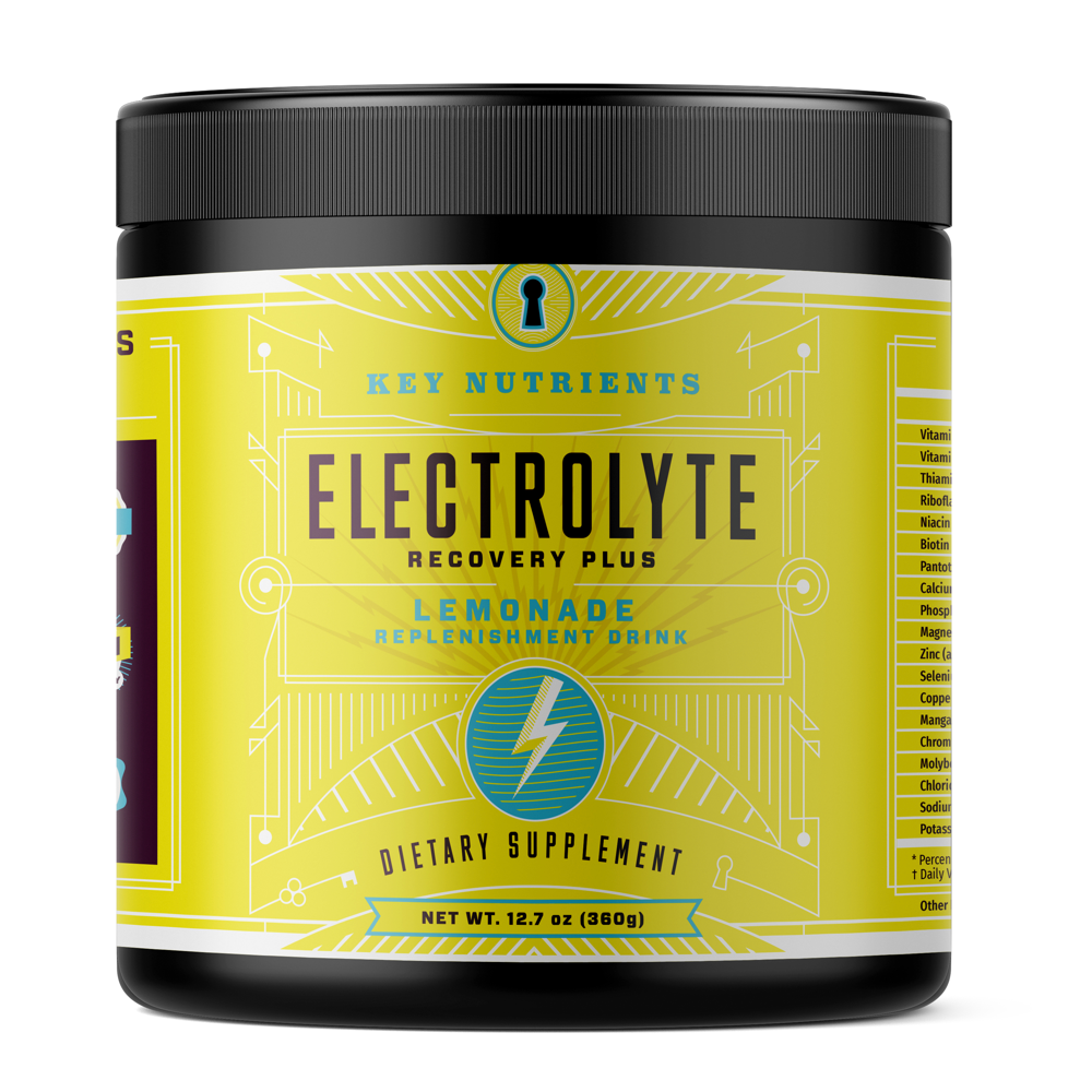 Electrolyte Recovery Plus - Lemonade Electrolyte Powder