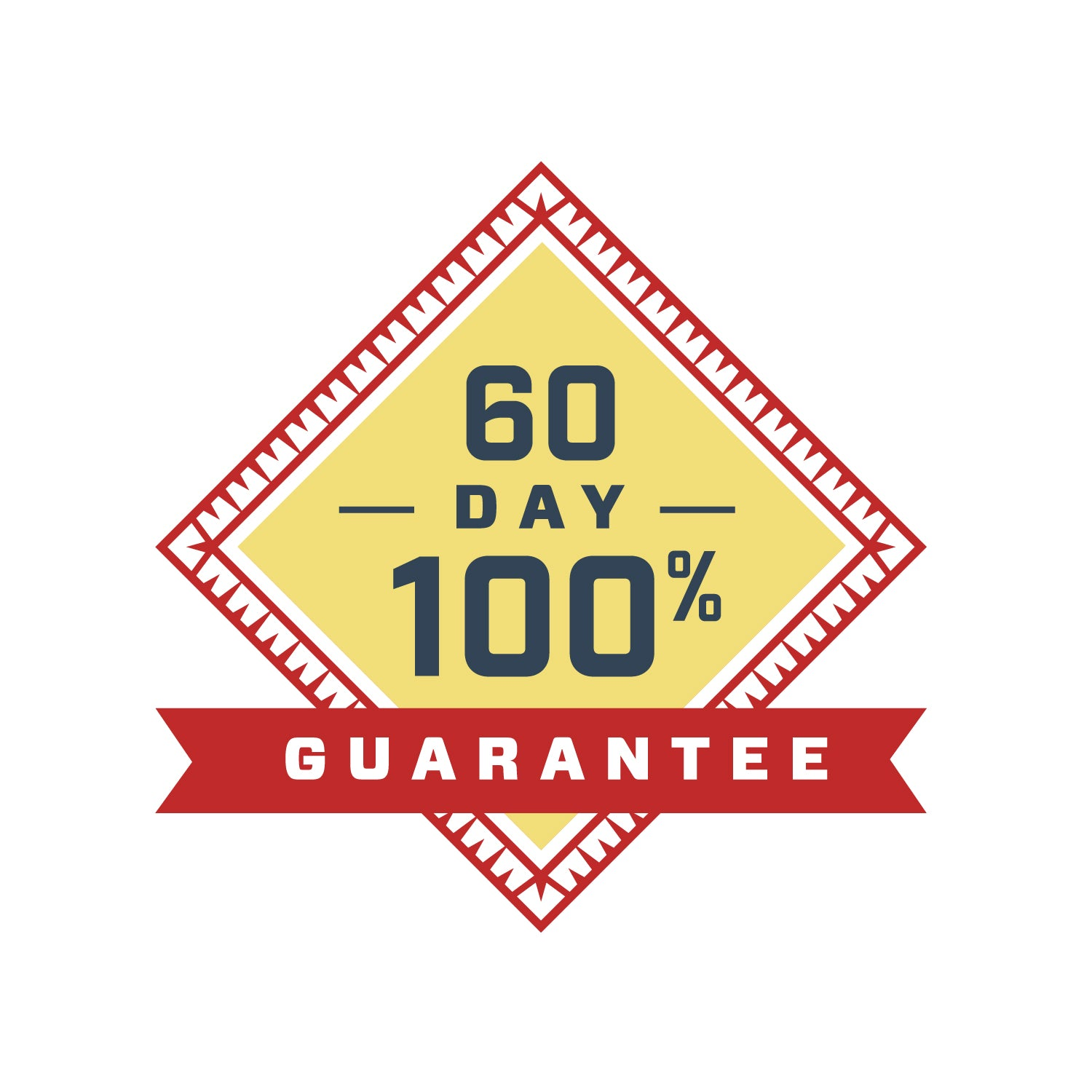 Our bhb exogenous ketone powder comes with a 60 day guarantee
