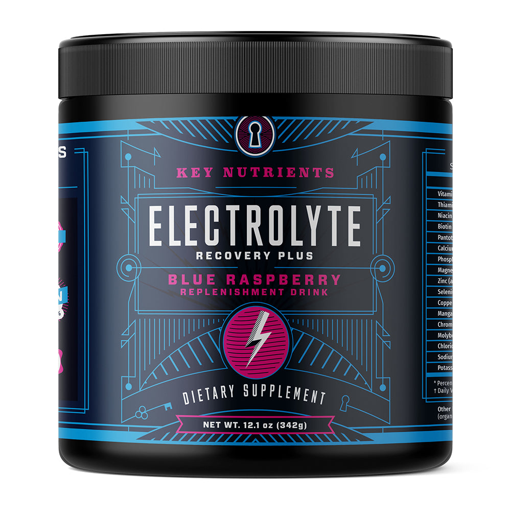 Electrolyte Recovery Plus - Blue Raspberry Electrolyte Powder