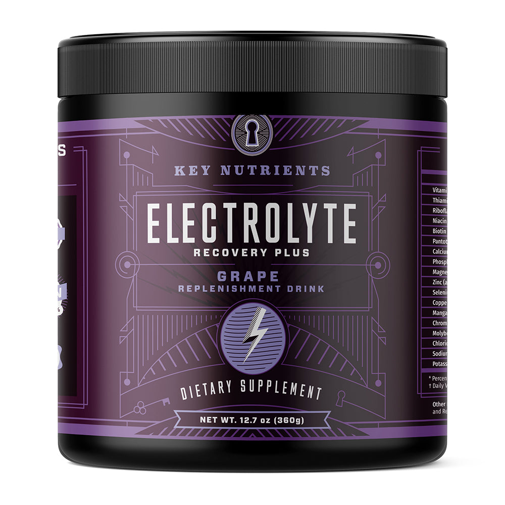 Electrolyte Recovery Plus - Grape Electrolyte Powder