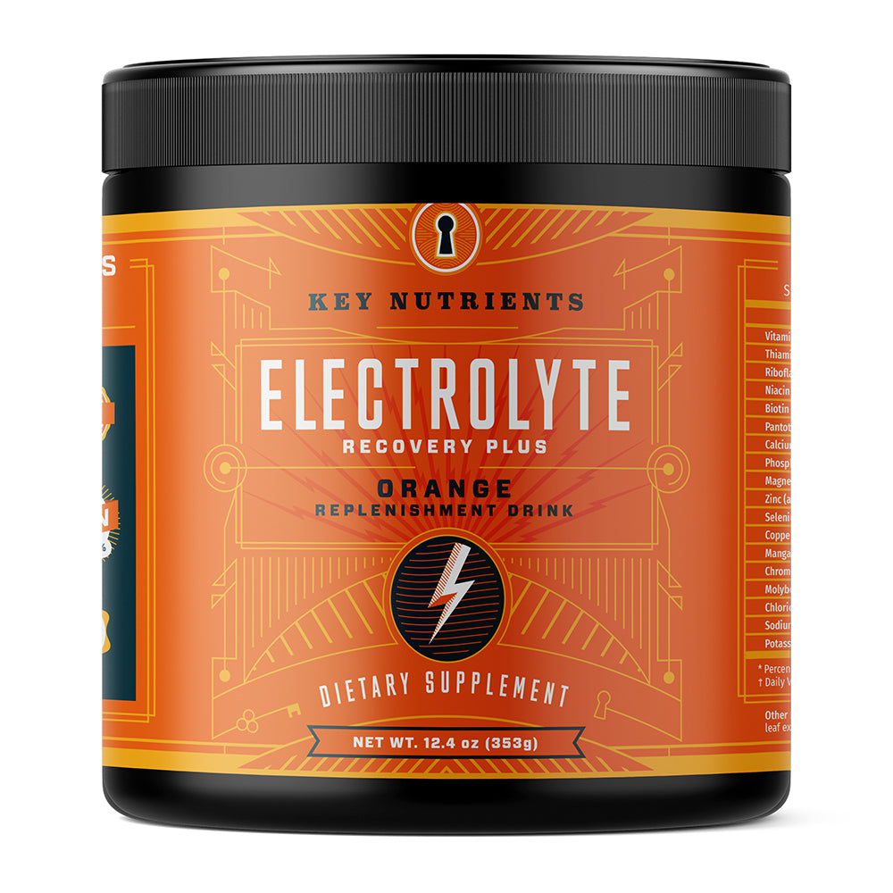 Electrolyte Recovery Plus - Orange Electrolyte Powder