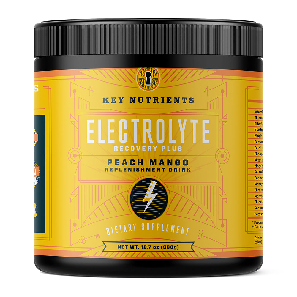 Electrolyte Recovery Plus - Peach Mango Electrolyte Drink Powder