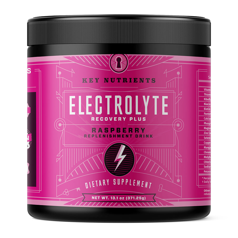 Electrolyte Recovery Plus - Raspberry Electrolyte Drink