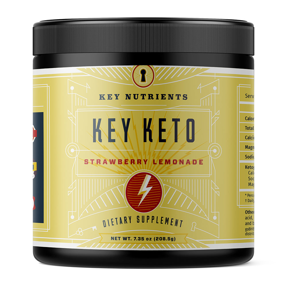 Exogenous Ketones - Key Keto Strawberry Lemonade