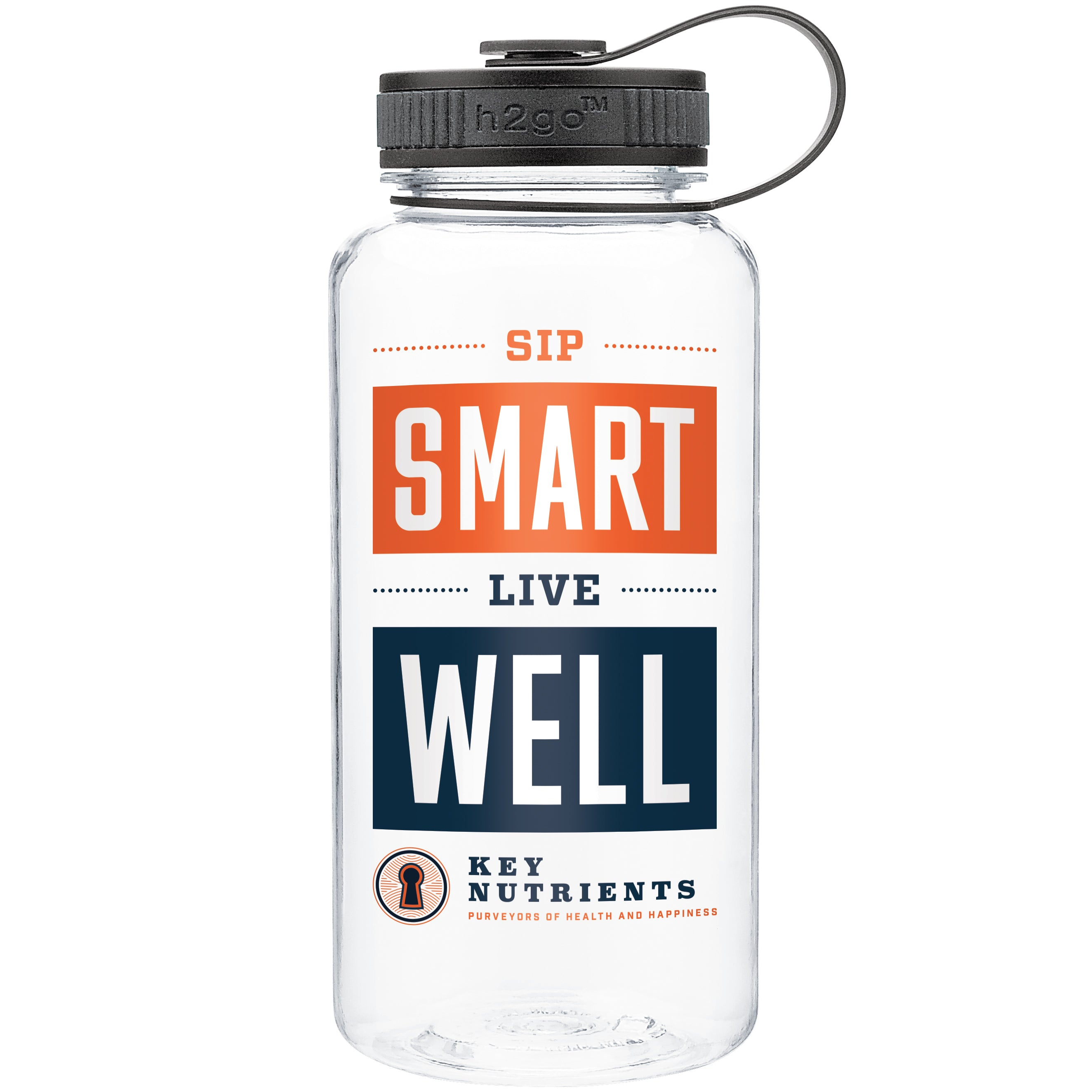Sip Smart Live Well - 34 OZ Shaker Bottle