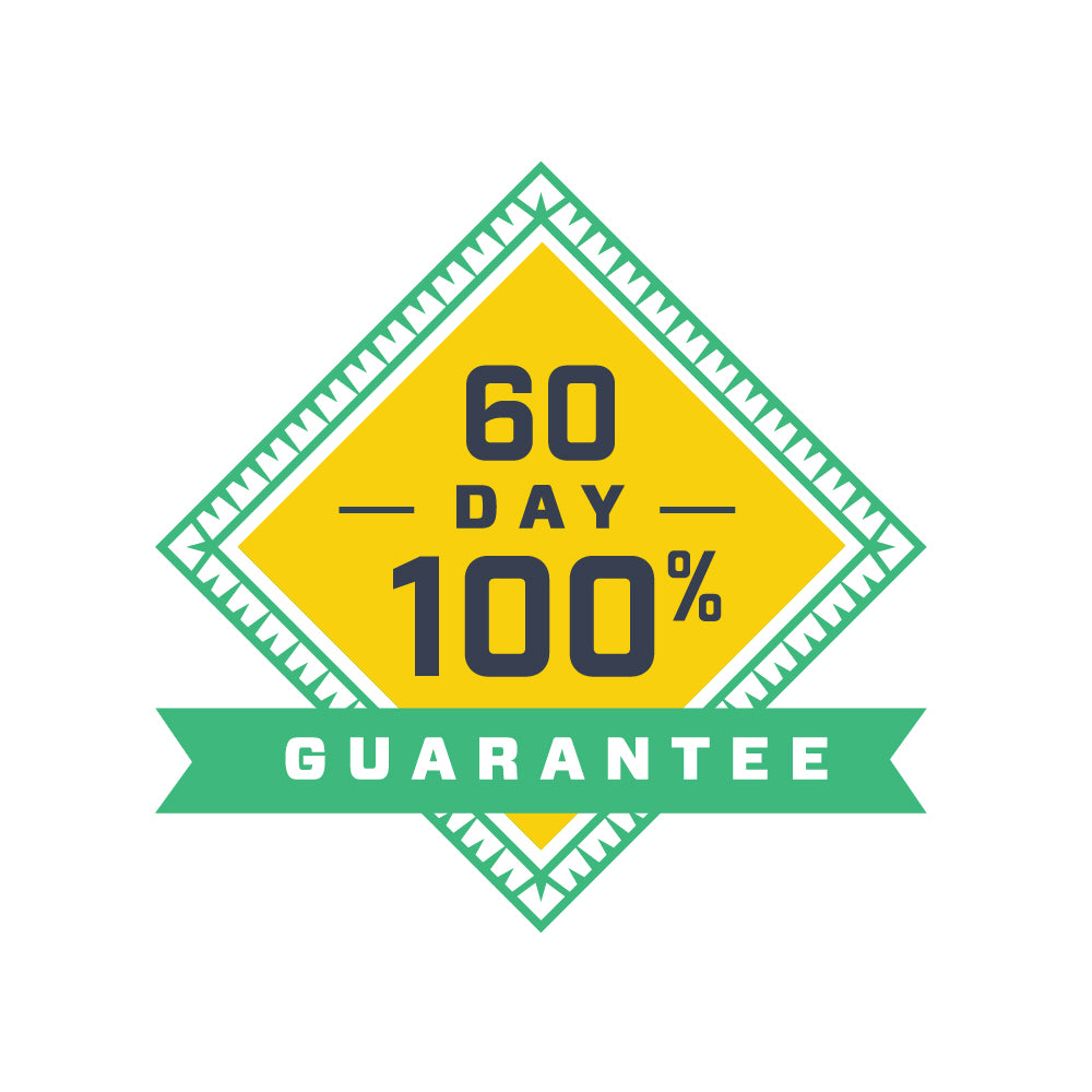 Our bhb exogenous ketones come with a 60 day guarantee