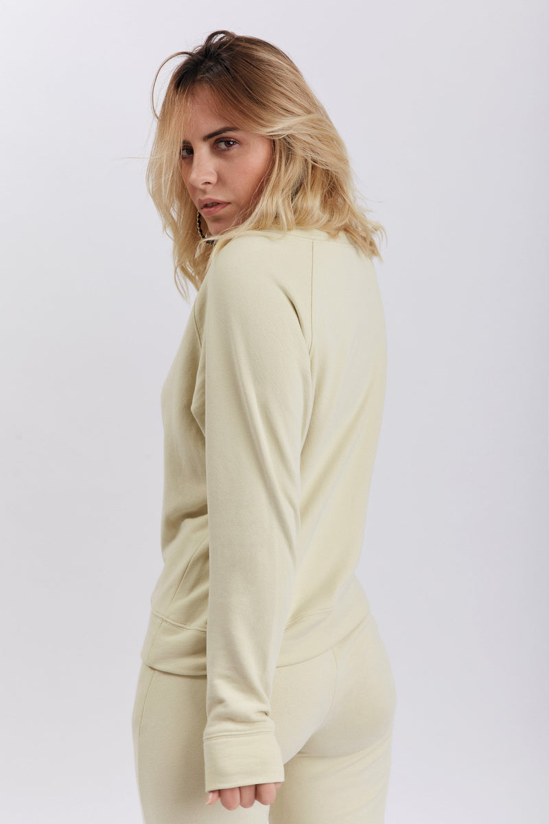 Amalia Sweatshirt Yellow