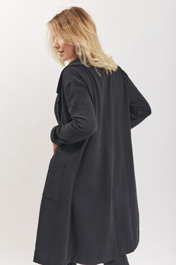 Bertha Coat Black