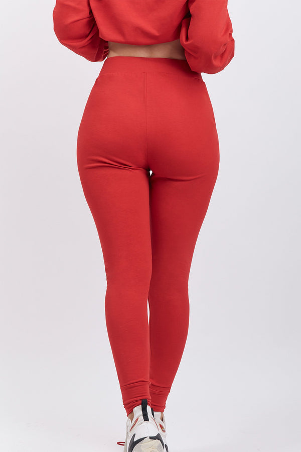 Lucia Pant Cherry Red
