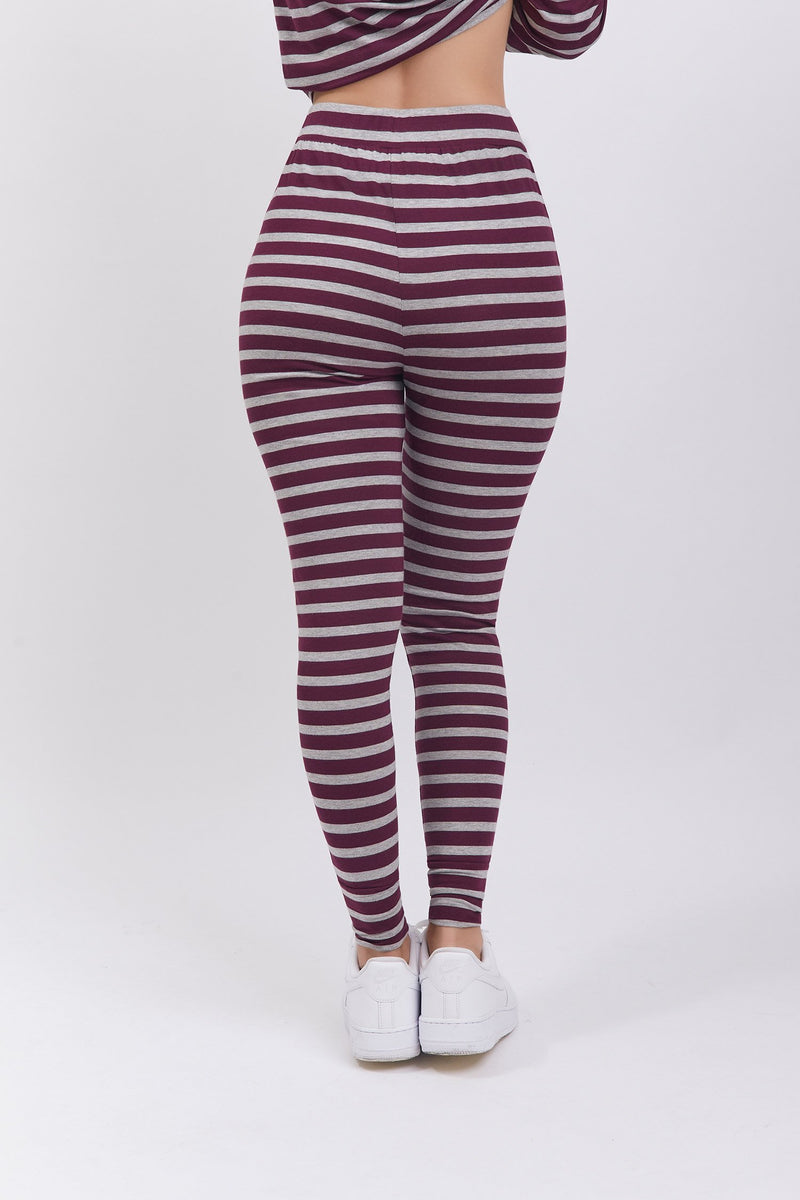 Renata Pant Striped Cherry