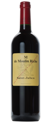 Château Moulin Riche, `M de Moulin Riche` Saint-Julien
