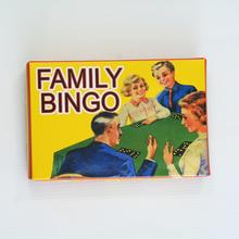 Family Bingo Board Game