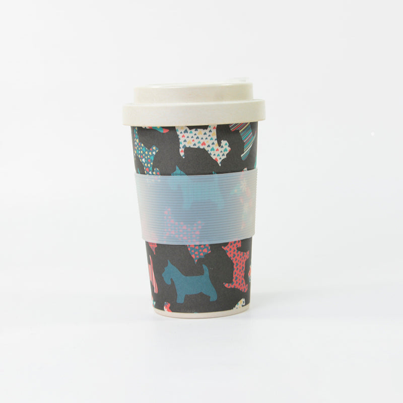 Bamboo Cup -  Scotty Dogs