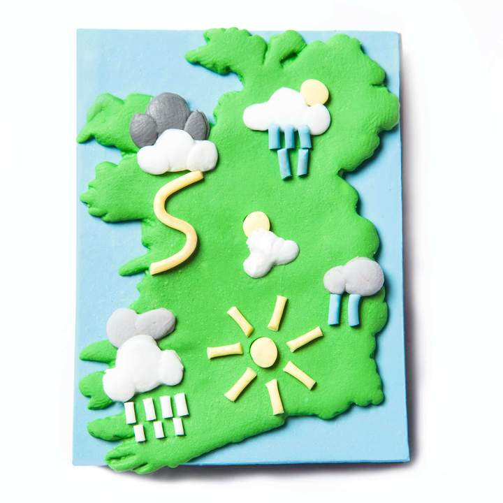 Weather Map - Fridge Magnet