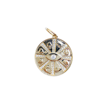 Load image into Gallery viewer, 14kg Gold Lucky 2021 Pendant