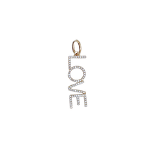 Load image into Gallery viewer, Dangling LOVE Pendant
