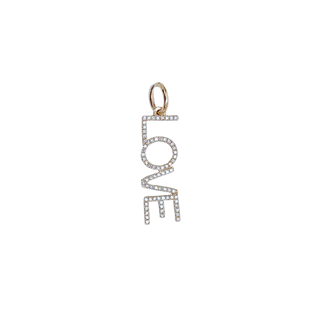Dangling LOVE Pendant